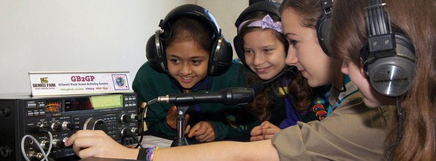 Jamboree On The Air- Girls and Boys are invited to join worldwide. This is GB2GP in the UK.